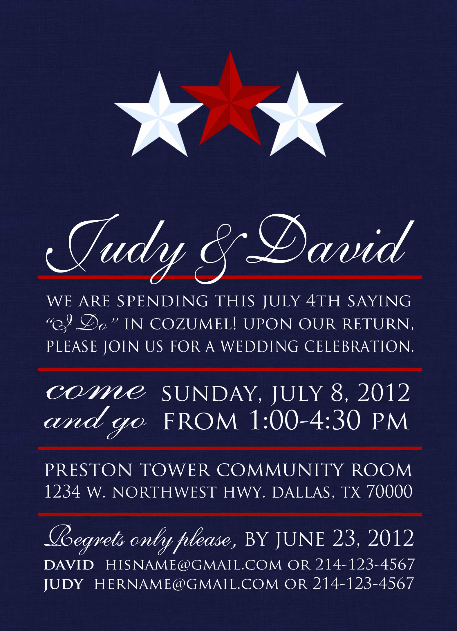 Wedding Invitations Paloma Paper Designs