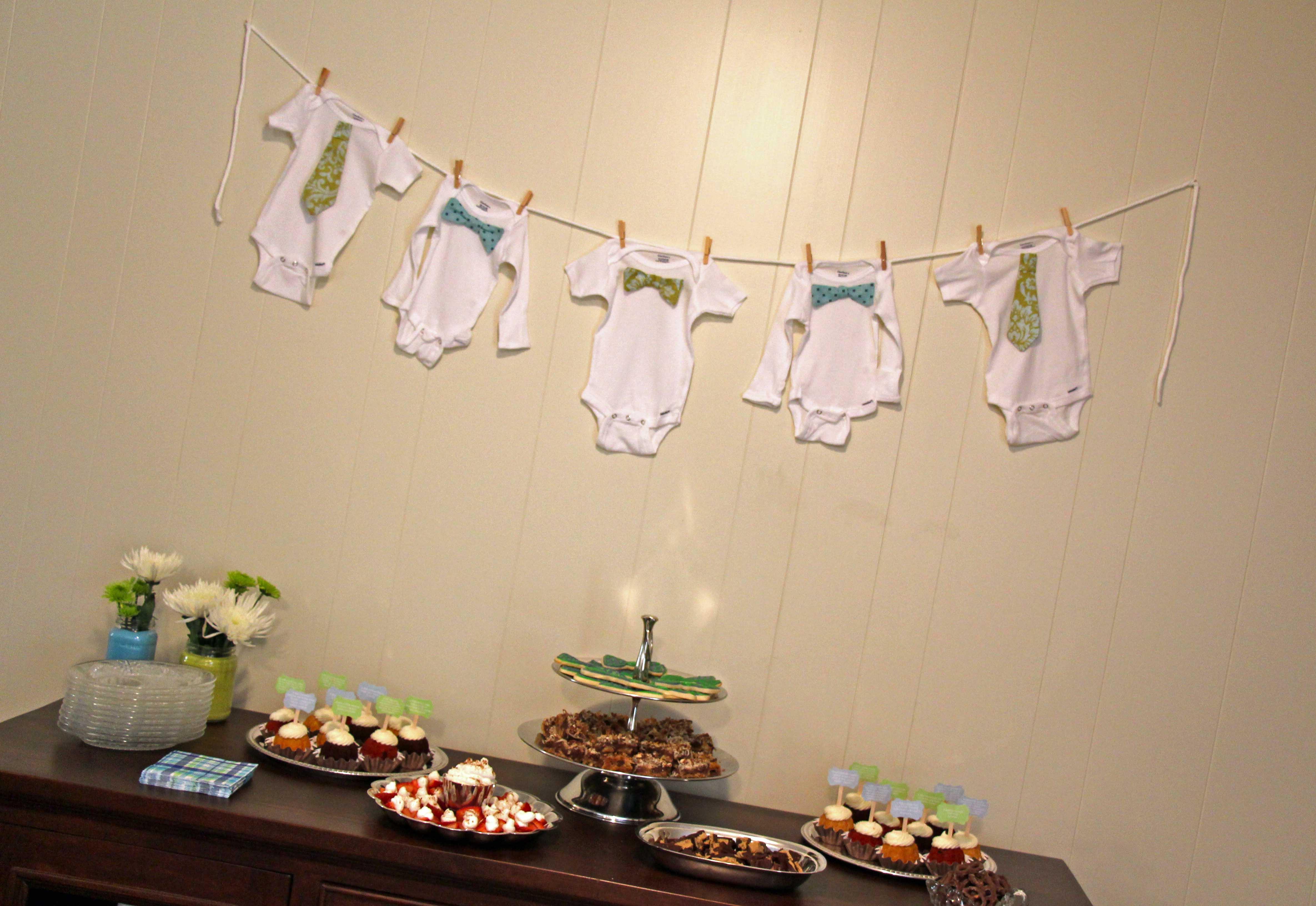 Little Man Baby Shower Paloma Paper Designs