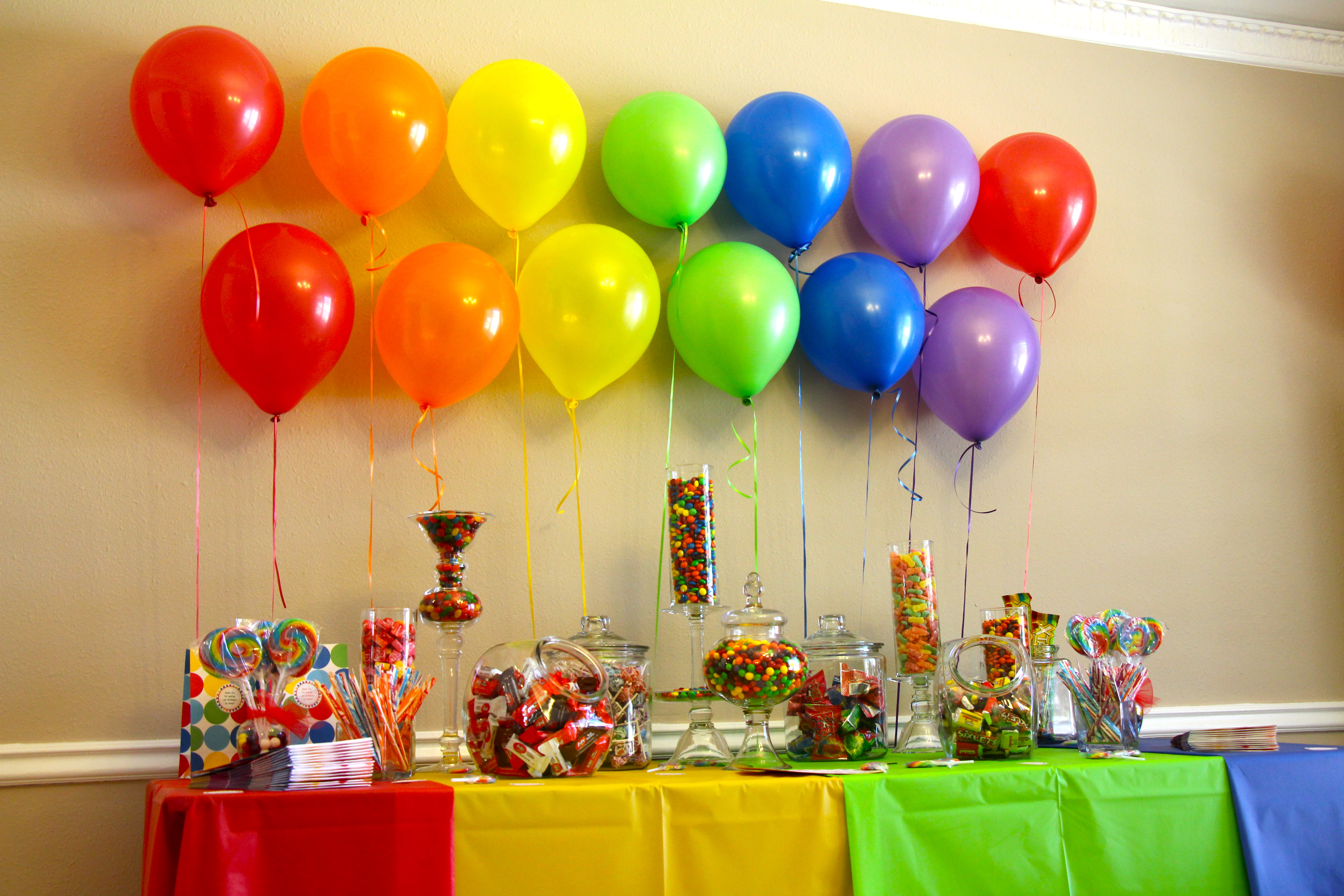candy bar at kids party | just b.CAUSE